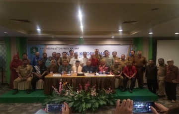Rapat Koordinasi Kebudayaan Provinsi Kalbar Tahun 2019