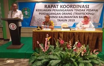 Rakor Kebijakan Penanganan Tindak Pidana Perdagangan Manusia