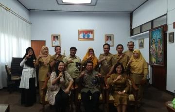 Kunjungan Tim Penilai dari Komisi Informasi