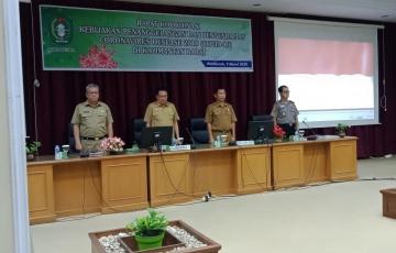 Rapat Koordinasi Kebijakan Penanggulangan dan Pengendalian Virus Corona di Kalimantan Barat