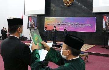 Gubernur Kalimantan Barat Lantik 13 Pejabat Pimpinan Tinggi Pratama