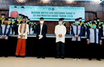 Wisuda Hafizh dan Hafizhah Kalimantan Barat Tahap II     Tahun 2020