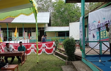 Kepala Biro Kesra Mewakili Gubernur Kalimantan Barat menghadiri Acara Harlah 3 Dekade Napak Tilas Al-FURQAN, Desa Bengkarek, Kec. Sungai Ambangah, Kab. Kubu Raya