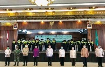 PENETAPAN HASIL UJI KOMPETENSI TAHAP I CALON HAFIZH DAN HAFIZHAH SE-KALIMANTAN BARAT TAHUN 2021