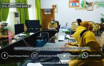 Rapat Internal Biro Kesejahteraan Rakyat