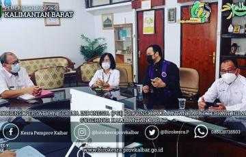 Audiensi Pengurus Persatuan Gereja Indonesia (PGI) Provinsi Kalimantan Barat