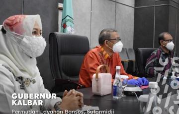 Launching Aplikasi Sistem Online Hibah dan Bansos (E-SOHIB) Provinsi Kalimantan Barat